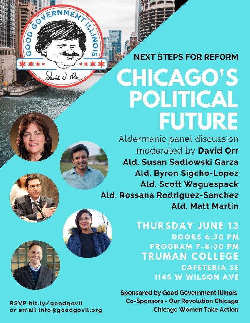 June 13 Aldermanic Forum at Truman College